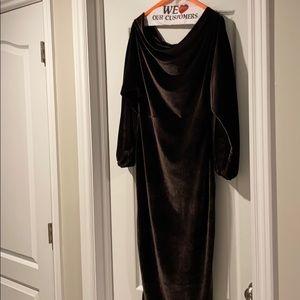 Almost new off shoulder midi dress
